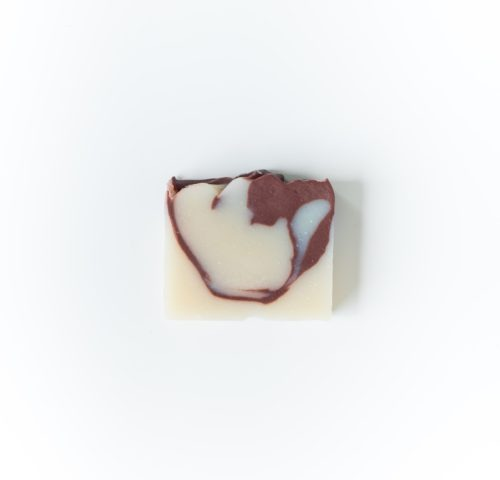 pink clay cocoa butter soap