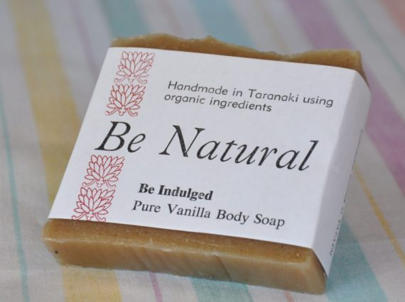 handmade organic soap vanilla