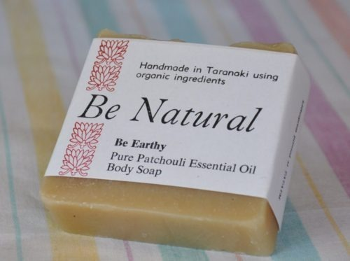 natural patchouli soap