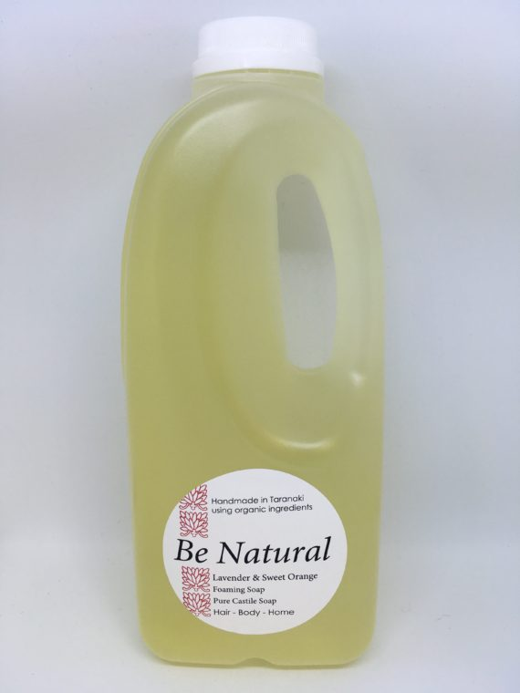 Liquid castile soap refill